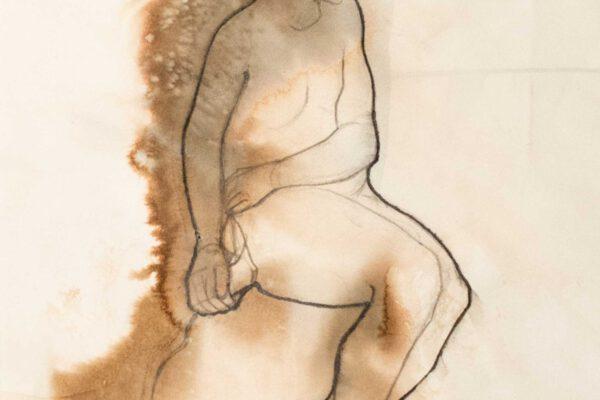 Bianca Faltermeyer Pencil Nude Drawing Akt03
