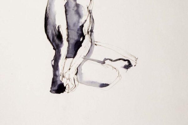Bianca Faltermeyer Pencil Nude Drawing Akt02