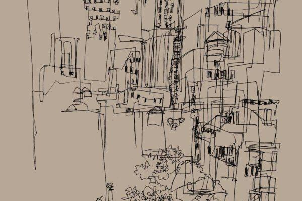 BiancaFaltermeyer_NewYork_Pen_drawing
