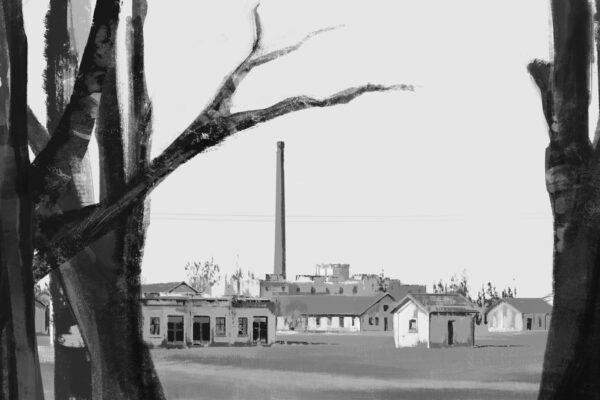 Bianca Faltermeyer Illustration Doku KZ Dachau Teil1 München Bild04