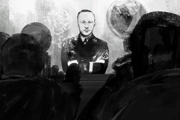 Bianca Faltermeyer Illustration Doku KZ Dachau Teil1 München Bild05