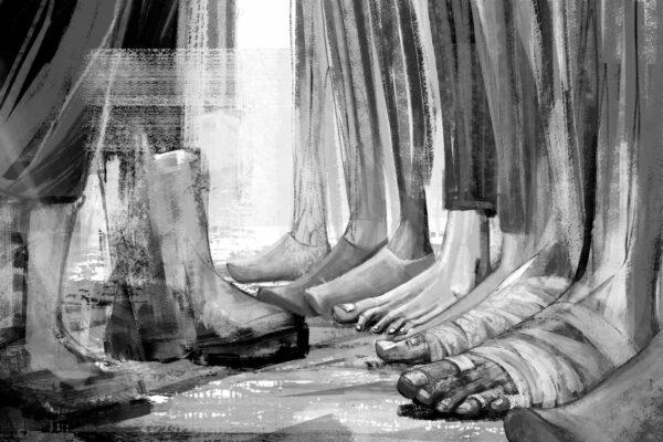 Bianca Faltermeyer Illustration Doku KZ Dachau Teil1 München Bild02