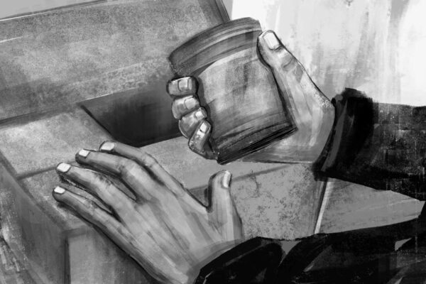 Bianca Faltermeyer Illustration Doku KZ Dachau Teil1 München Bild09