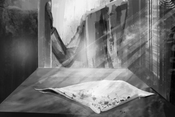 Bianca Faltermeyer Illustration Doku KZ Dachau Teil2 München Bild10
