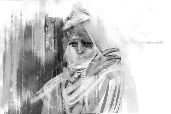 Bianca Faltermeyer Illustration Doku KZ Dachau Teil2 München Bild15
