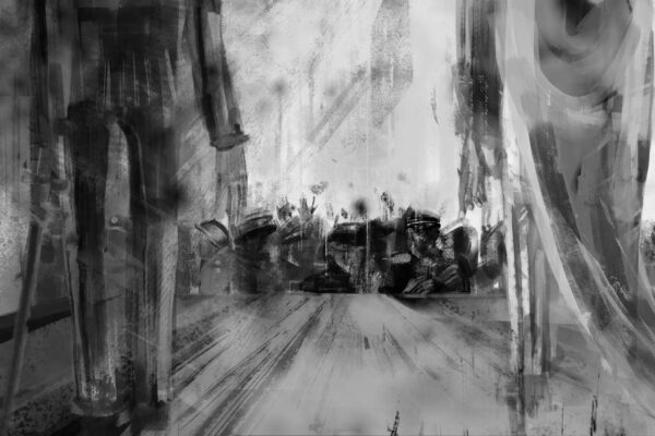 Bianca Faltermeyer Illustration Doku KZ Dachau Teil2 München Bild16