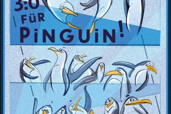 Bianca Faltermeyer Konsalik Coverdesign 3:0 für Pinguin