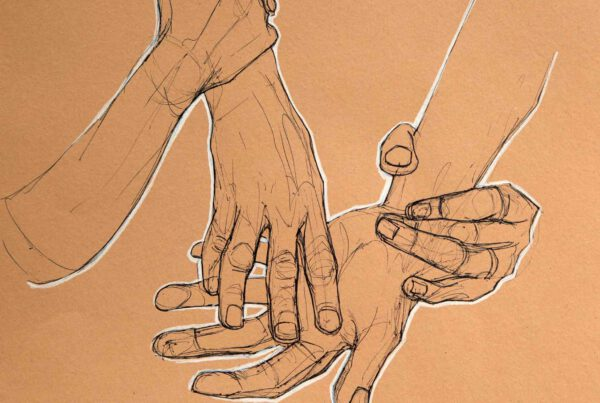 Bianca Faltermeyer Label Artwork Pen Drawing Hands 02