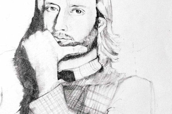 Bianca Faltermeyer Art Pencil Drawing Portraits 02 München