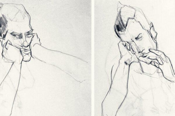 Bianca Faltermeyer Art Pencil Drawing Portraits 03 München