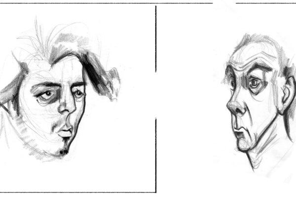 Bianca Faltermeyer Art Pencil Drawing Portraits München